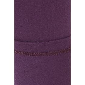 - 41T9SNNvkXL - Leggings Depot Women's Premium Quality Ultra Soft Cotton Spandex Solid Leggings (Purple, 1X)