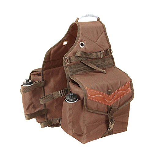 Tough 1 Insulated Saddle Bag with Pockets Brown for sale  Delivered anywhere in USA