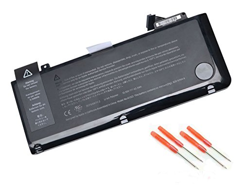 Ankon HighPerformance A1322 A1278 LaptopBatteryfor MacBookPro 13 inch (200920102011 2012Version )Series Laptop---12 Months Warranty