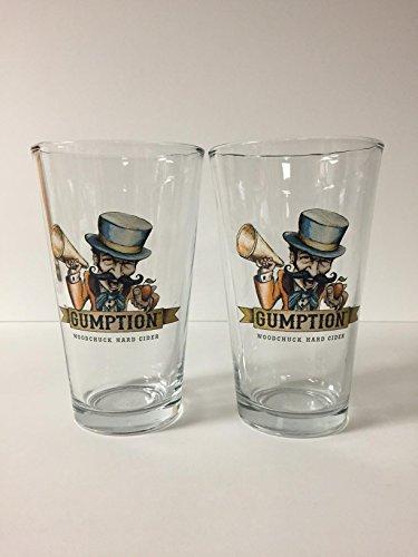 Woodchuck Cider (WOODCHUCK Hard Cider - Gumption - 16oz Pint Glass - 2 Pk)