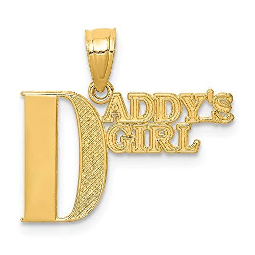 14k Daddys Girl Pendant