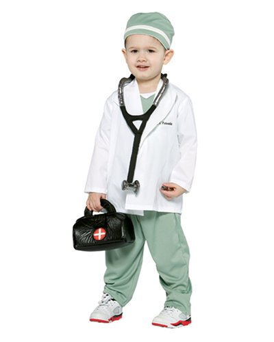 When I Grow Up Costume (Future Doctor Toddler Costume -)