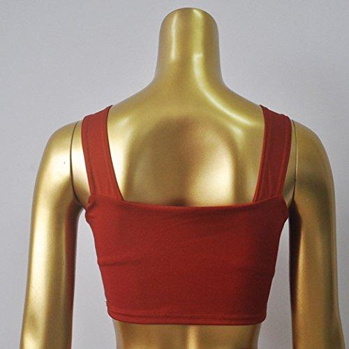 Trajes de baño para mujer,RETUROM Traje de baño caliente vendedor caliente del bikiní del Push-Up de las mujeres Rojo