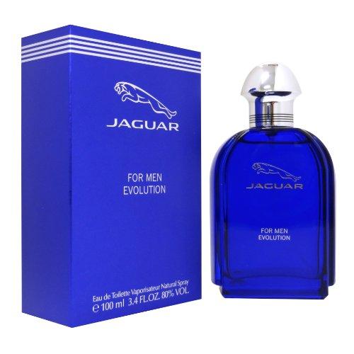 Jaguar Evolution Eau De Toilette Spray For Men  3 4 Ounce