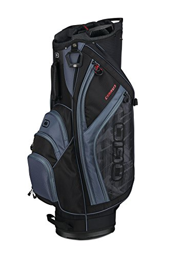 OGIO 2018 Cirrus Cart Bag, Shoot Black