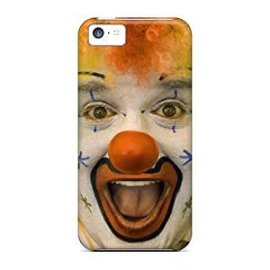 Slim Fit Protector Shock Absorbent Bumper Clown Cases For Iphone 5c