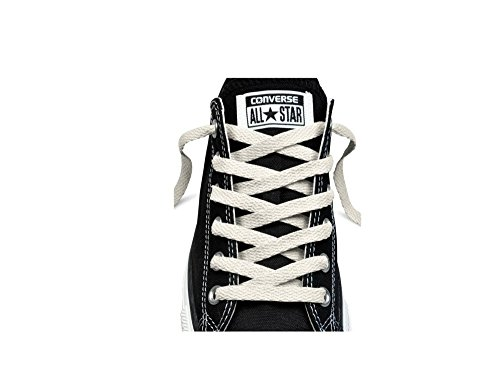 Converse 54 Inch Flat High Top Shoelaces White