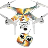 MightySkins Protective Vinyl Skin Decal for DJI Phantom 3 Standard Quadcopter Drone wrap cover sticker skins Eye Of The Storm