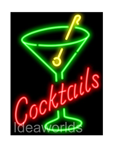 Super bright LED neon sign for store retail restaurant business office mancave beer bar pub garage room. Size 20
