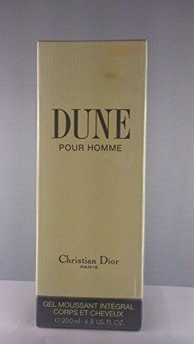 CHRISTIAN DIOR - DUNE POUR HOMME 6.8 Fl. OZ. BODY & HAIR SHAMPOO / SHOWER GEL