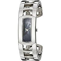 Calvin Klein Women's Dress Bangle Swiss Quartz Watch