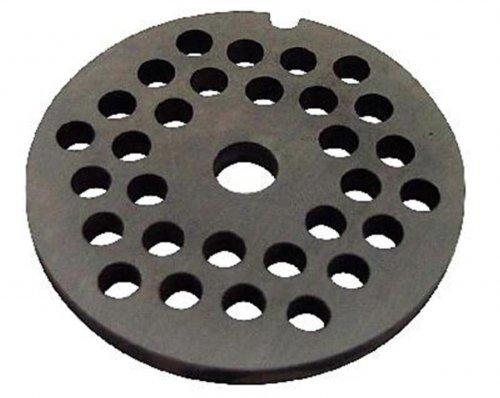 Reber 4007a/45 - Griglia per tritacarne Reber n° 5, diametro fori 4,5 mm, acciaio inox