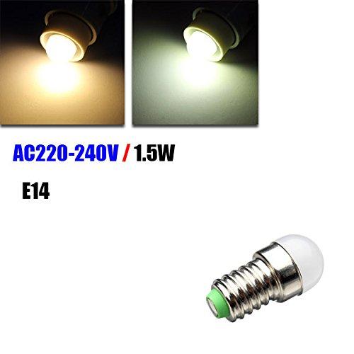 Pegasus E14 LED blanco bombilla de 1.5W / blanco cálido nevera ...