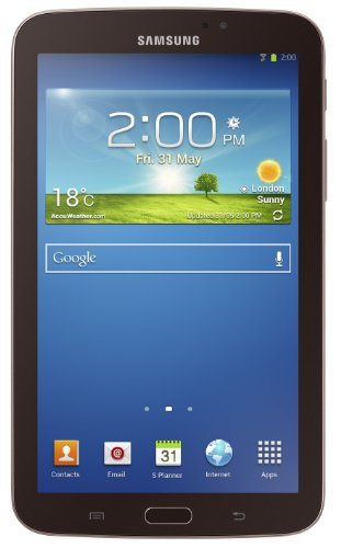 Samsung Galaxy Tab 3 (7-Inch, Gold-Brown, 8-GB) 2013 Model (Samsung Tab 3 Cellular)
