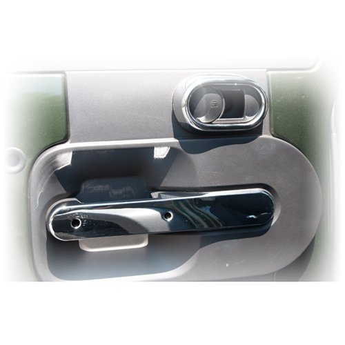 Rugged 11156.17 Chrome Rear Door Handle Trim with Manual ...