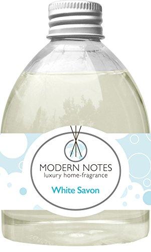 徴収アーティストイタリアのMODERN NOTES リードディフューザー(大) WHITE SAVON 240mL