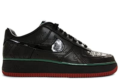 wholesale dealer 71a80 a829f Image Unavailable. Image not available for. Color  NIKE AIR FORCE 1 LOW  PREMIUM  quot BLACK ...