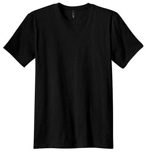 District Threads Young Mens Concert Tee, M, Black ()