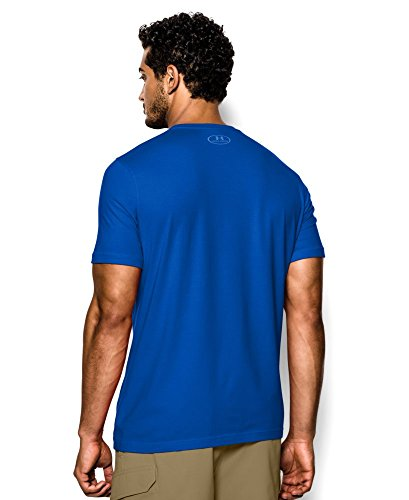 Under Armour Men's UA Fish Hook Logo T-Shirt 3XL Moon Shadow