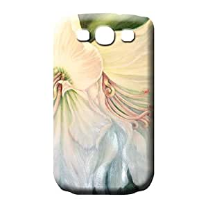 samsung galaxy s3 cell phone shells Shock Absorbent Attractive colorful easter lilys
