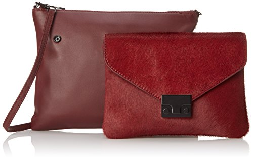 Bag Double Maroon RANDALL Body Pouch LOEFFLER Cross q4w0ngwW