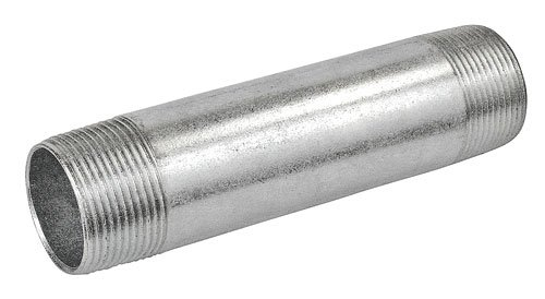 12 Inch Long 1-1/4 Inch Galvanized Rigid Conduit Pipe Nipple-1 per case