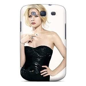 Protective Tpu Case With Fashion Design For Galaxy S3 (avril Lavigne 50)
