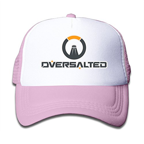 Price comparison product image Elnory Oversalted Logo Child Funny Grid Cap Pink