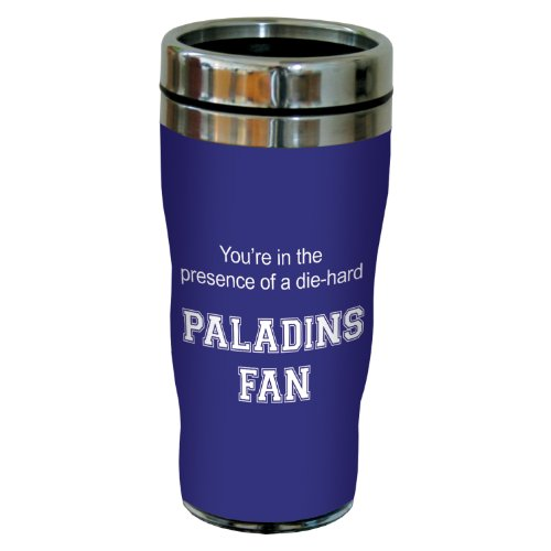 Tree-Free Greetings sg24712 Paladins College Basketball Sip 'N Go Stainless Steel Lined Travel Tumbler, 16 Ounce