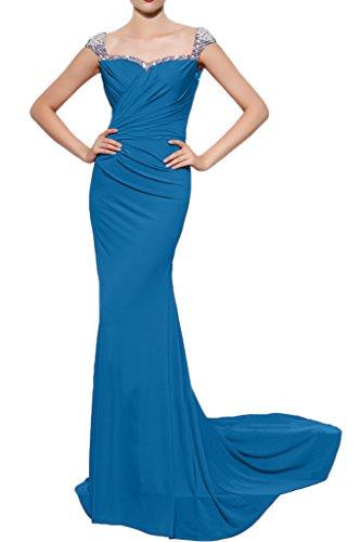 Missdressy - Vestido - Escotado por detrás - para mujer Azul