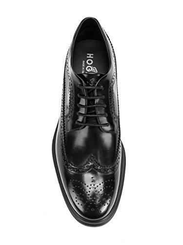 Hogan - Zapatos de cordones para hombre negro negro IT - Marke Größe