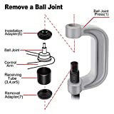 AURELIO TECH 10PCs Ball Joint Press Kit & U Joint