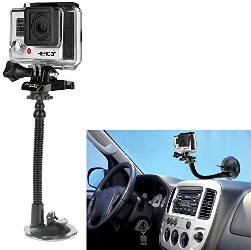 Xiaoyi and Other Action Cameras ZQ House Car Suction Cup Mount Holder for GoPro New Hero //HERO6 //5//5 Session //4 Session //4//3 //3//2 //1