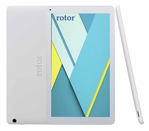 "rotor Android 5.0 Lollipop 10.1"" 16GB HD Screen Quad"