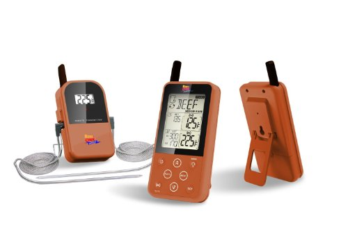 - Maverick ET-733 Long Range Wireless Dual Probe BBQ Smoker Meat Thermometer Set - NEWEST VERSION With a Larger Display and added Features (Copper)
