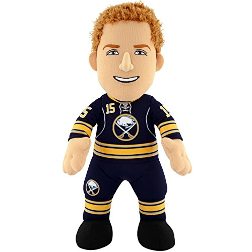 "Bleacher Creatures NHL Buffalo Sabres Kids Jack Eichel Plush Figure, 10"", Blue"