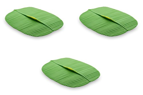 Charles Viancin Banana Leaf Lid, Large Rectangular, Set of 3