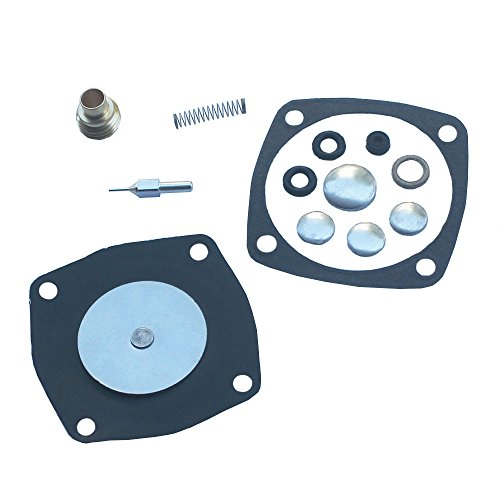 KIPA Carburetor Rebuild Repair Kit For Toro S140 S200 S620 CR20 Sears Tecumseh AH600 AV520 AV600 H22-H35 HS40 LAV30 LAV40 TVS600 TVS1400 TVS1500 Engine 631893A 631893 630795A 630812A 630888 630892 by KIPA