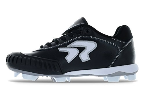 Dynasty Black 0 Cleat 2 Pitching White qUSqP