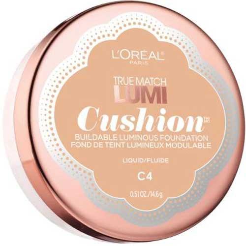 Lor Tm Lumi C4 Cshn Fnd S Size .52 O L'Oreal True Match Lumi Cushion Foundation C4 Shell Beige .52oz