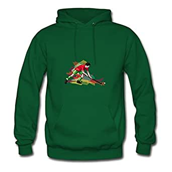 Best Orlaston Green Custom Hockey_092012_a_6 Hoodies X-large Women