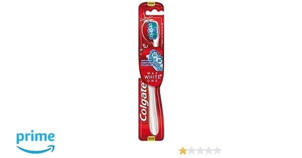 Colgate Maxwhite One, Cepillo de Dientes (Medio), Paquete de 4 Unidades: Amazon.es: Salud y cuidado personal