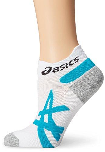 ASICS White Bondi Blue Fujitrail Crew Mini Sock qgnp6BqfR