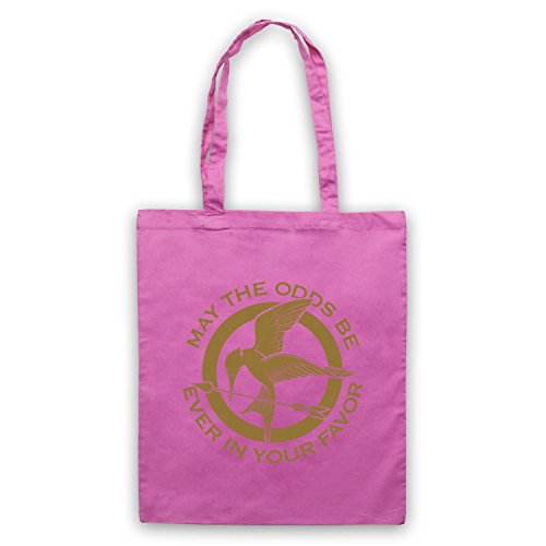 Hunger Games Odds Ever In Your Favor Bolso Rosa