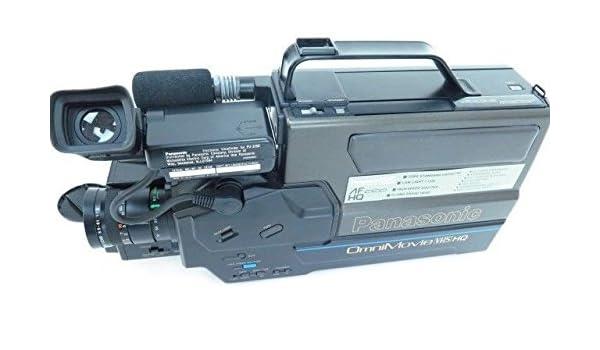 Amazon Com Panasonic Omnimovie Vhs Hq Camera Camcorder Pv320 Electronics