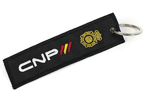 Llavero Policía Nacional CNP Bordado 2