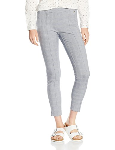 Tommy Hilfiger Ona Tregging Ankle, Pantalones para Mujer,Azul (POWDER BLUE 499), 38 Talla del fabricante: 8)