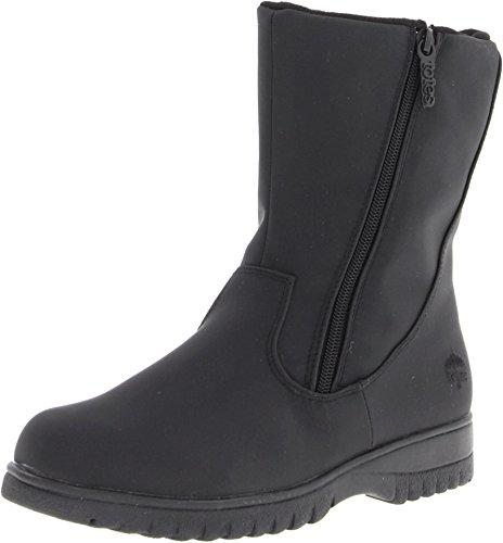 (totes Women Rosie 2 Boot, Black, 7 W US)