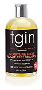 5. Moisture Rich Sulfate-Free Shampoo for Natural Hair by Thank God It's Natural (13 Oz.)