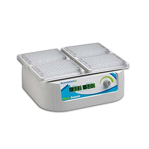 Benchmark Scientific Orbi-Shaker MP BT1500 Variable Speed Microplate Orbital Shaker for 4 Microplates, 100-240 Universal Voltage US Plug